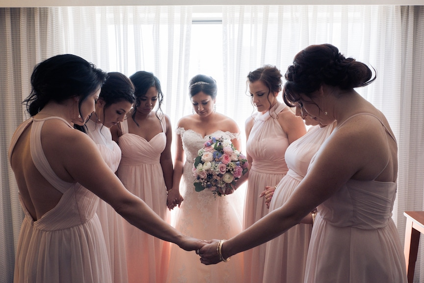 bridesmaid prayer