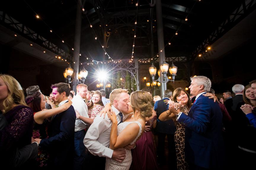 packed dance floor inn at st. johns