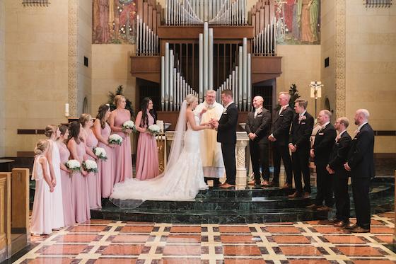 wedding ceremony inn at st johns